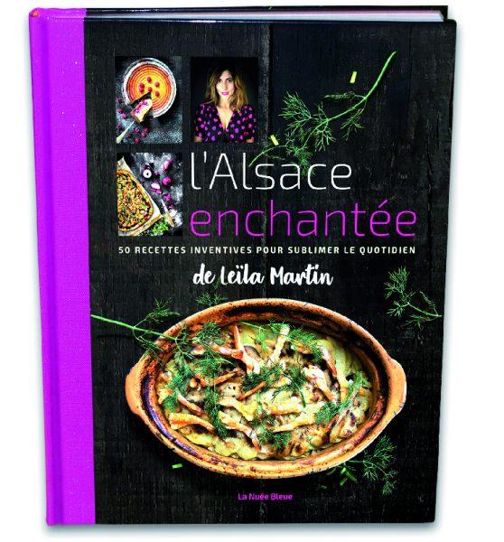 Jeu : 2 livres à gagner l'Alsace enchantée de Leïla Martin