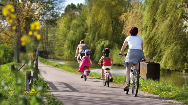 Les Forts à vélo