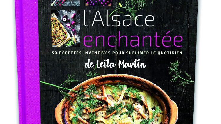 Jeu terminé – Jeu : 2 livres à gagner l'Alsace enchantée de Leïla Martin